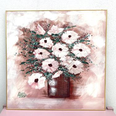 Flower Bouqet Statement Size Painting