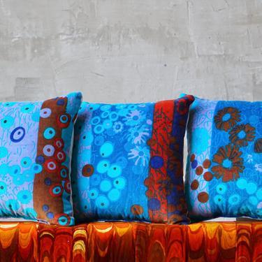 Jack Lenor Larsen 'Primavera' Pillows by FandFVintage