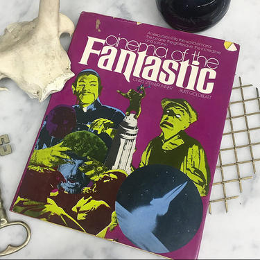 Vintage Cinema of the Fantastic Book Retro 1970s Horror Movies and Monsters + King Kong + Frankenstein + Werewolf + Home and Table Decor by RetrospectVintage215