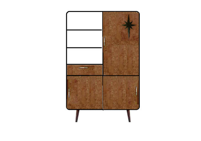 Custom cabinet - approx 9 months waiting list by OrWaDesigns