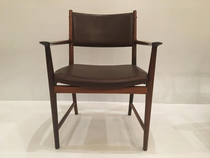 Set 6 Rosewood arm chairs .  Origin Denmark by ClassicAntiquesPHL