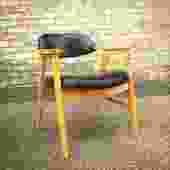 Mid-century Barrel Back Arm Chairs