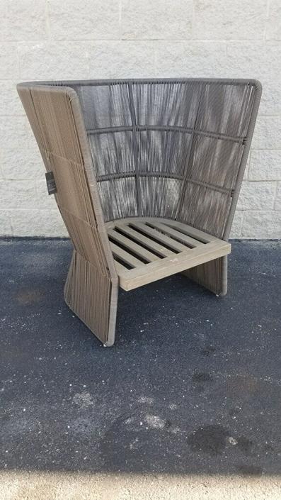 Restoration Hardware Havana Fan Chair
