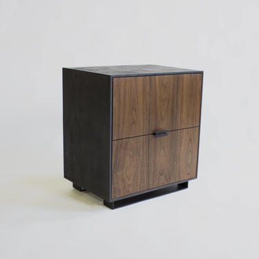 Hanks Concrete Nightstand and Side Table by CrumpandKwash