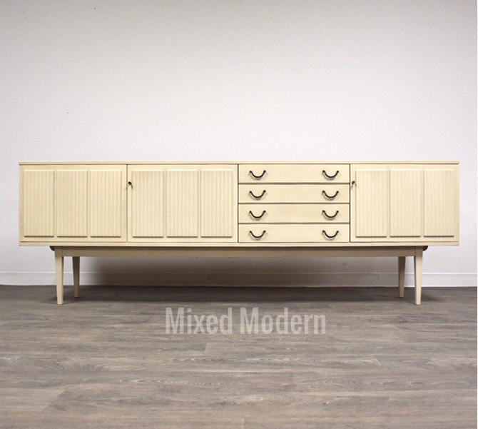 "White German 94"" Credenza by Bartels by mixedmodern1"