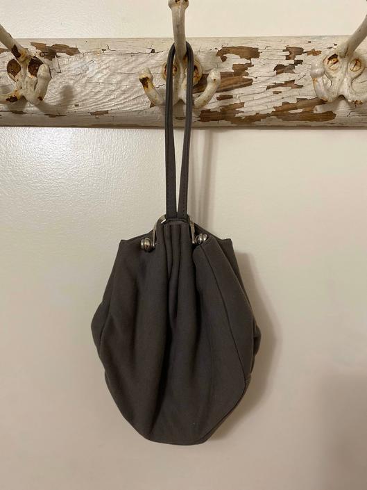 40s GARAY purse | RARE designer wristlet handbag | art deco purse with silver hardware by LosGitanosVintage