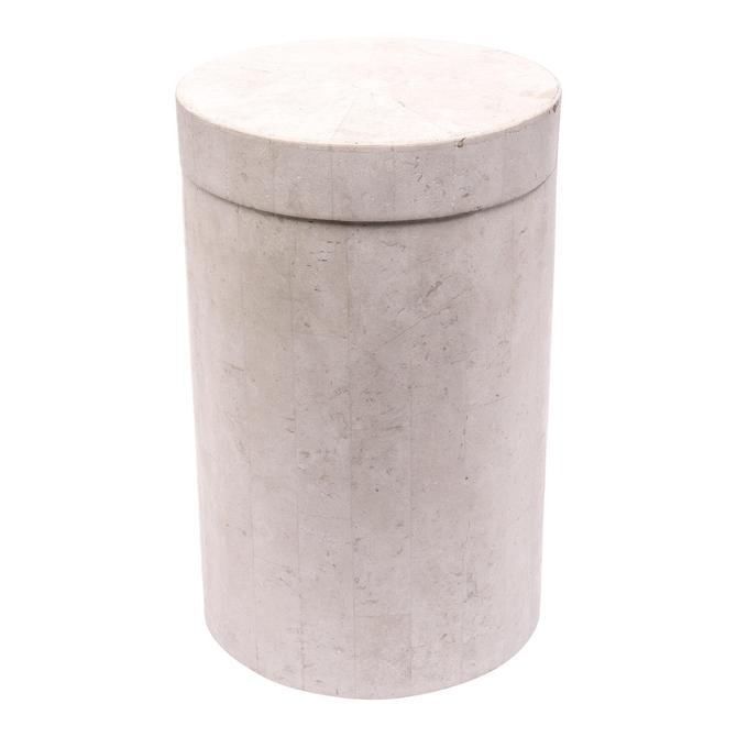 Marquis Collection Modern Covered Stone Vessel