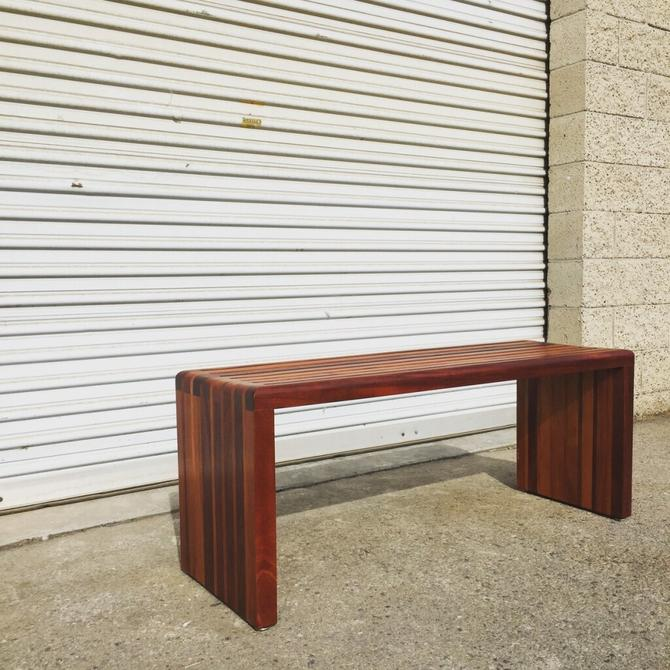 Hand-Crafted Bench