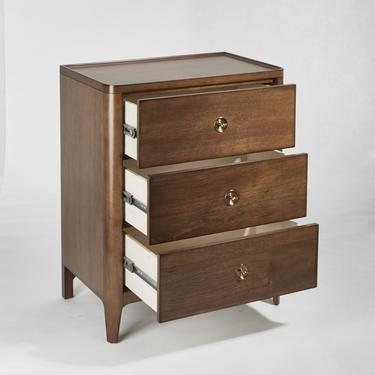 Walnut Mid Century  3 Drawer Dresser, Mid Century Storage  - Bella Collection - Ekais by Ekais