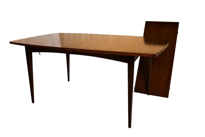 mid century modern american of martinsville expandable dining table by marykaysfurniture from. Black Bedroom Furniture Sets. Home Design Ideas