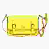 Kate Spade - Bright Yellow Leather Structured Crossbody