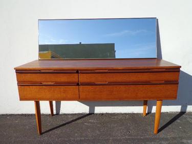 Danish Style Credenza : Dresser md century modern danish style tv media console furniture