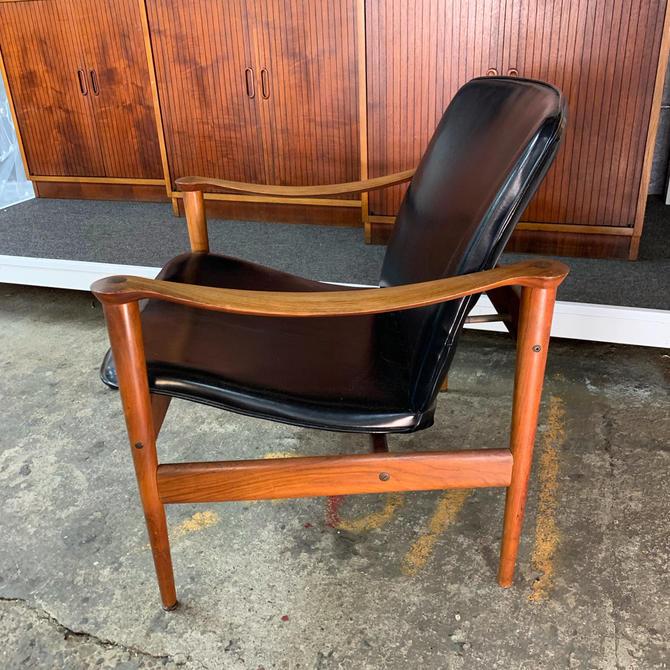 Fredrick a. kayser rosewood lounge chair