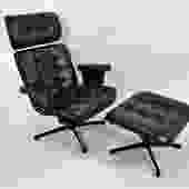 The Executive, a 1965 Eames Style Lounge Chair by Berton Bottemiller for  Homecrest