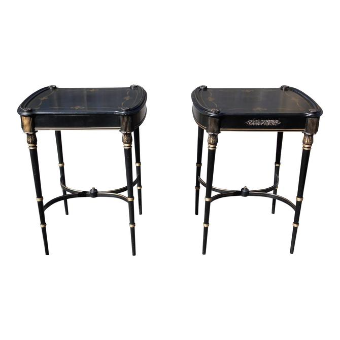 Vintage Pair French Louis XVI Style Tables