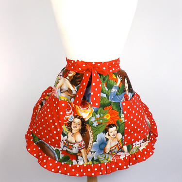 Senoritas Half Apron by VintageGaleria