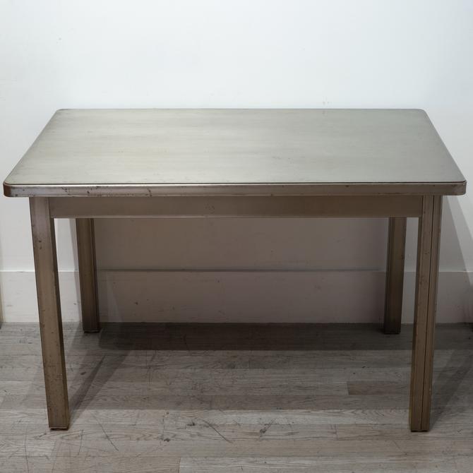 Industrial Steel Desk/Table c.1986