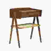 Danish Teak Side Table with Drawer Attr: Vodder