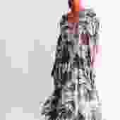 Melissa Odabash Printed Maxi Dress, One Size