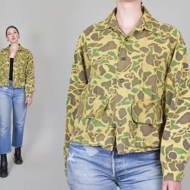 1950's Camouflage Jacket | 1950's Hunting Jacket by WisdomVintage