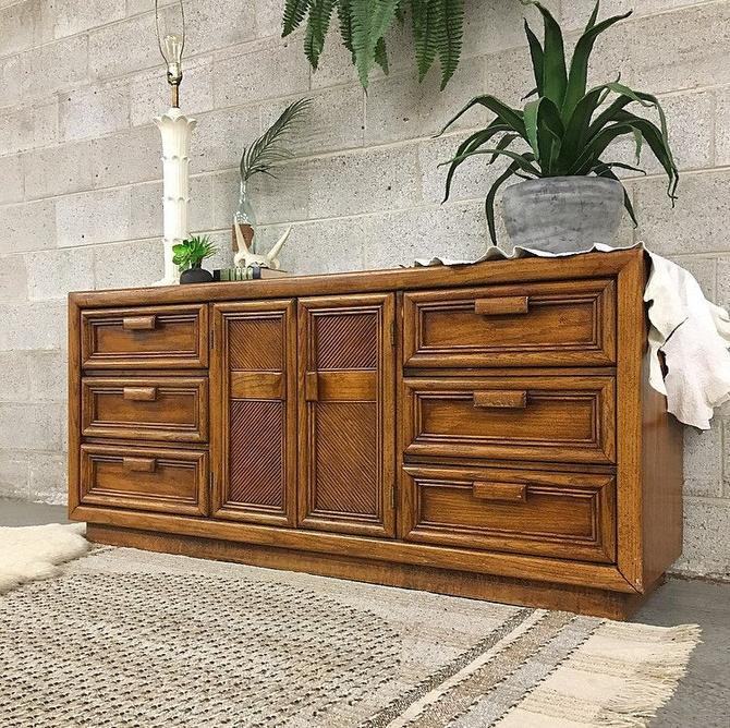 LOCAL PICKUP ONLY ------------ Vintage Dresser by RetrospectVintage215