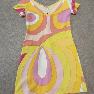 Pucci Pink Swirl Dress