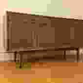 Drexel Declaration Vintage Walnut Sideboard Buffet