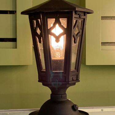 Outdoor Porch or Post Lantern #1880 by vintagefilament