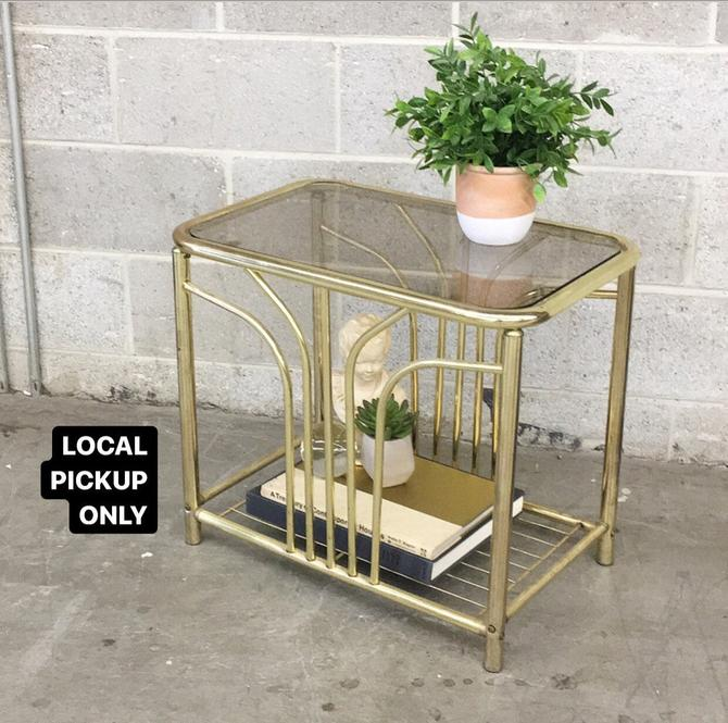 LOCAL PICKUP ONLY ———— Vintage End Tables ———— 2 on Hand Sold Separately by RetrospectVintage215