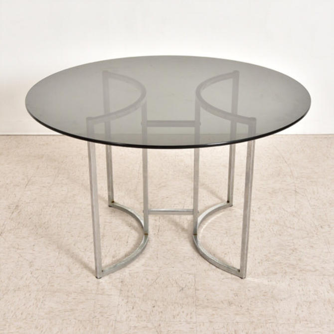 Vintage 1970's Chrome Table