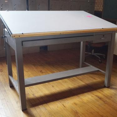 Adjustable Drafting Table From Art Institute