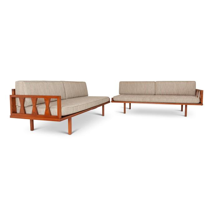 Solid Teak Mid-Century Day Bed — Pair by MCMSanFrancisco