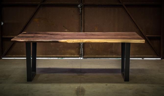 Figured Black Walnut Dining Table by KirkpatrickDesigns