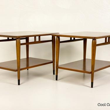Lane Acclaim Two-Level End Tables, Circa 1967 - *Please contact us for a shipping quote before you purchase. by CoolCatVintagePA