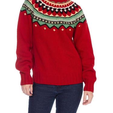 1980/90's Polo Ralph Lauren Hand Knit Sweater by SHOPMORPHEW