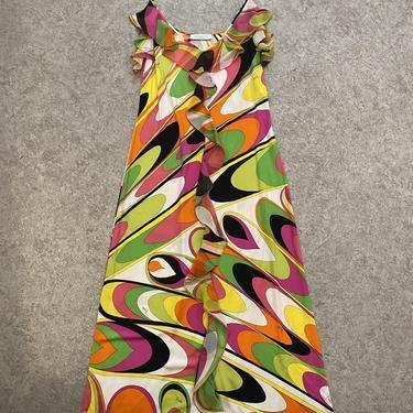 Pucci Swirl Rainbow Dress