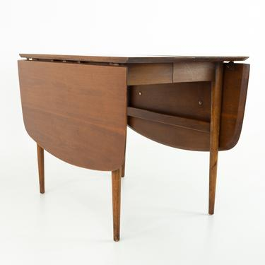 Merton Gershun for American of Martinsville Mid Century Dining Table with 2 Leaves - mcm by ModernHill