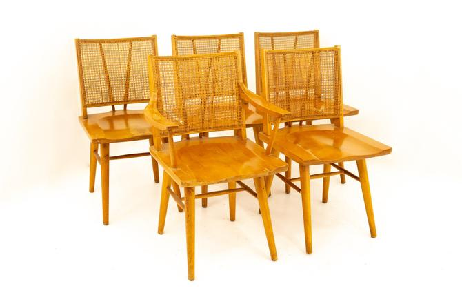 Paul McCobb Style Mid Century Dining Chairs - Set of 5 - mcm by ModernHill