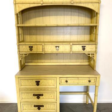 Ready for customization Dixie Shangri La Desk with hutch by McKennaDesignCompany