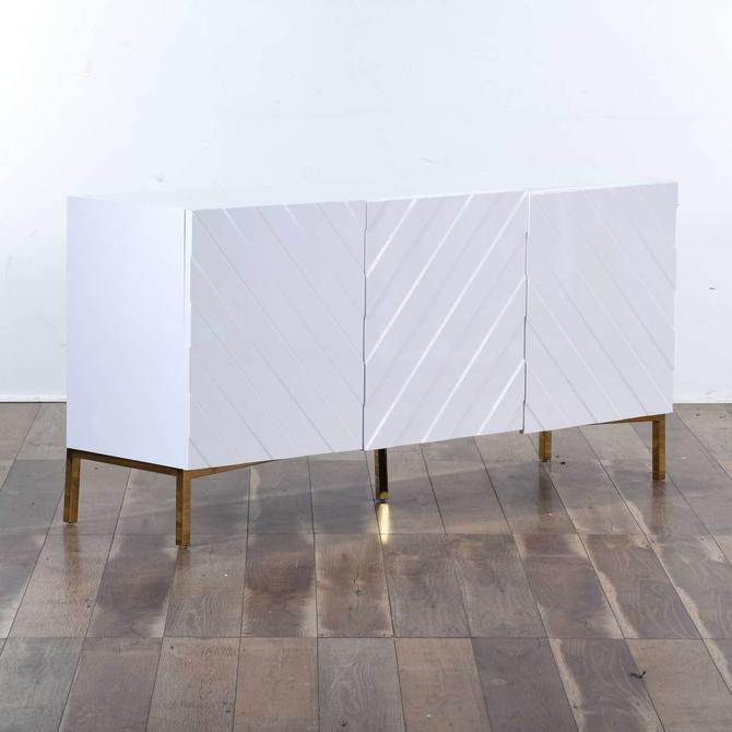 "Mercury Row Malcom 64"" Wide Birch Wood Sideboard"