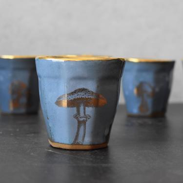 Espresso mug set of 6, Ceramic Espresso Cup, 4 oz cup ,  Macchiato cup, coffee lover gifts, Housewarming gift by claylicious
